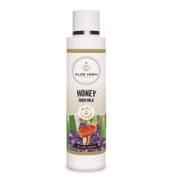 Aloe vera, lavender and honey body milk 250ml